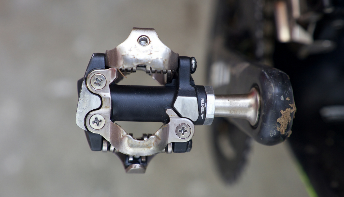 Clipless mountain bike pedals