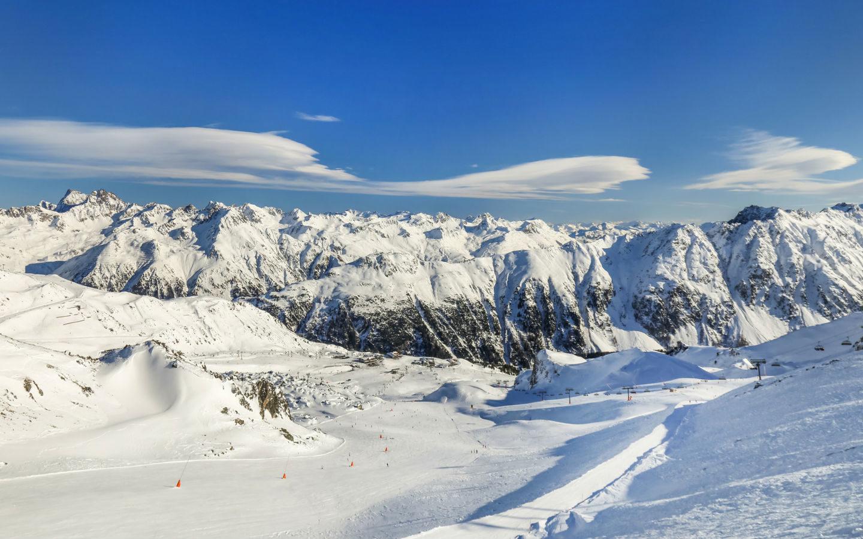 Austrian-alps-Europe-Snowboarding