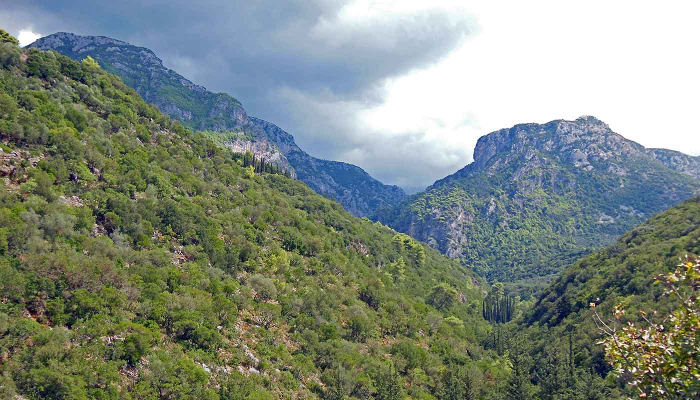 VIROS GORGE, GREECE