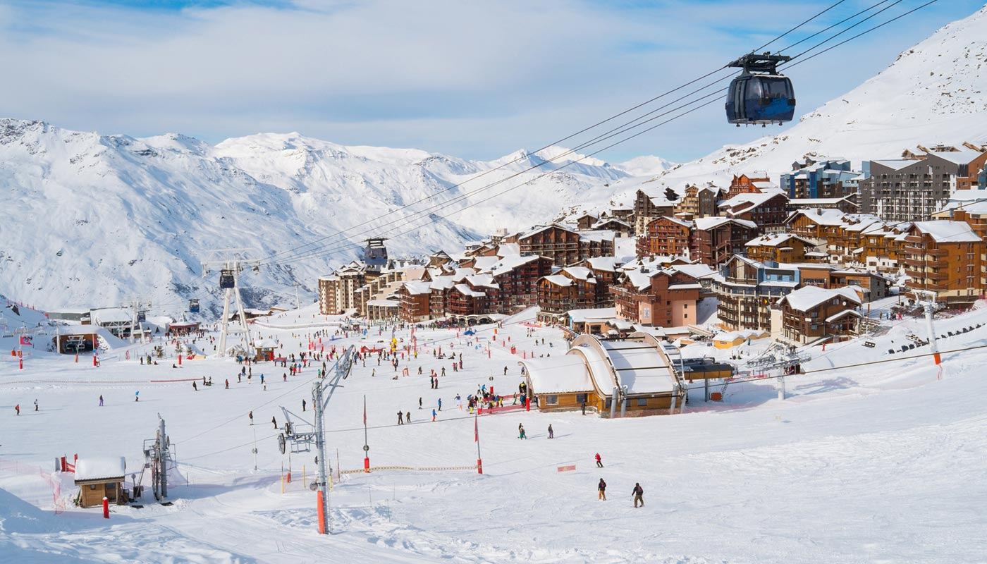 Val Thorens in Spring