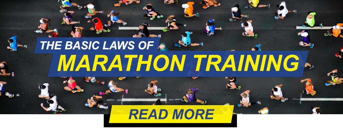 The basic laws of marathon training