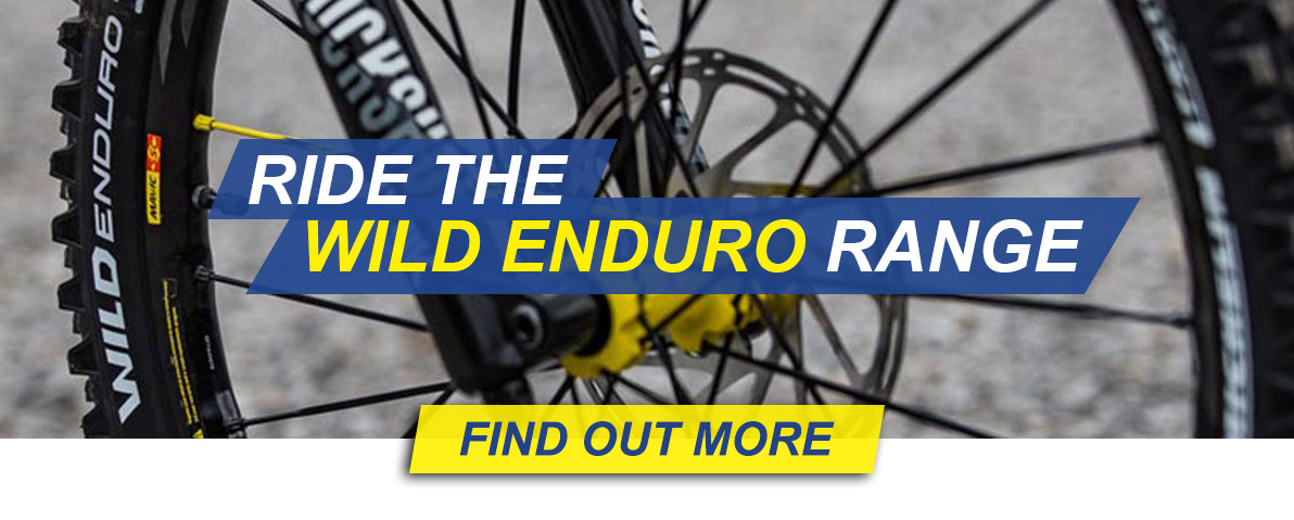 Ride the WILD ENDURO Range — Find out more