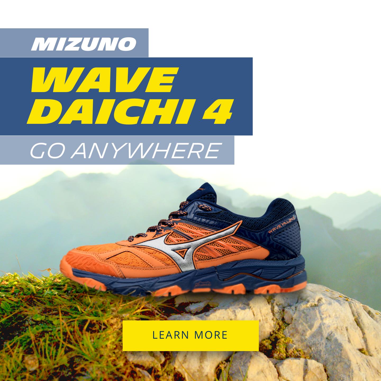 Mizuno Wave Daichi 4