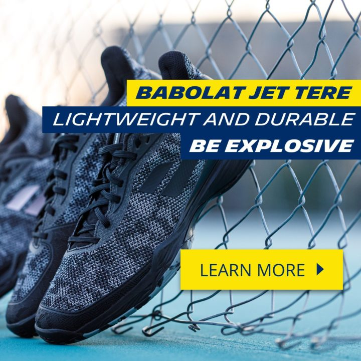 Jet Tere: Babolat serves up a stormy new addition to the Jet line