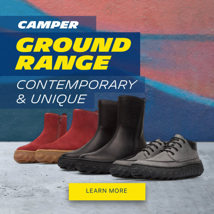 GET TO GRIPS WITH THE NEW CAMPER GROUND RANGE