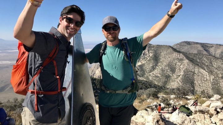 TAKING IT TO THE TOP: THE BROTHERS ON A MISSION TO CLIMB THE WORLD'S HIGHEST POINTS
