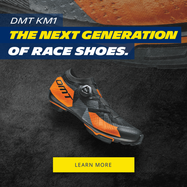 NEW FROM DMT: THE MOUNTAIN BIKING SHOE THAT FITS LIKE A GLOVE