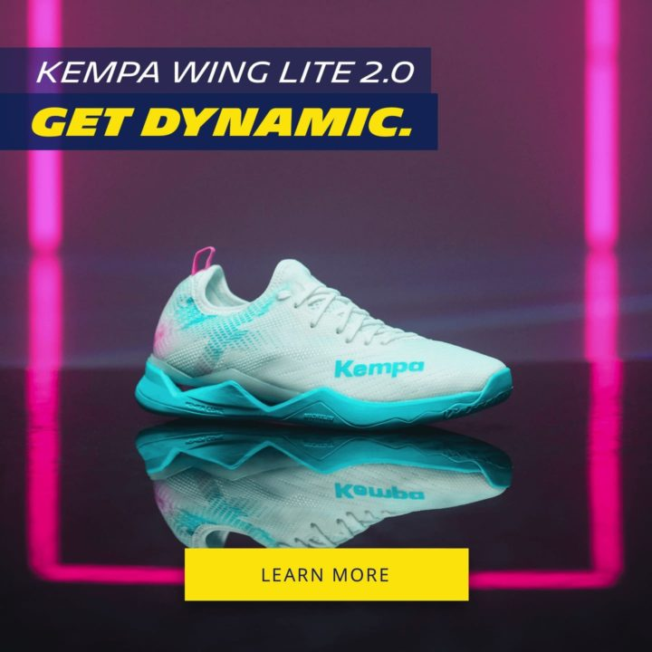 GET DYNAMIC ON THE COURT WITH THE KEMPA WING LITE 2.0