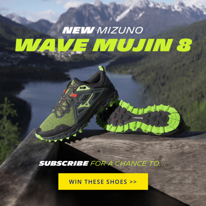 CONQUER THE TOUGHEST TRAILS WITH THE MIZUNO WAVE MUJIN 8
